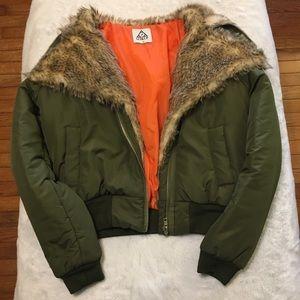 UNIF Amelia bomber jacket .NWOT.